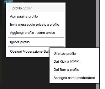 Moderazione Chat