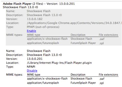 adobe flash plugin